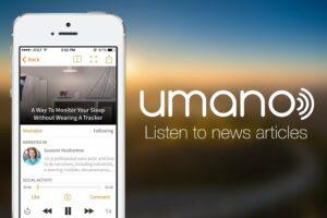 【產品創新】Umano:真人發音唸英語新聞給你聽